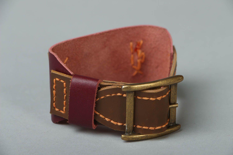 Leather bracelet Wild West photo 2