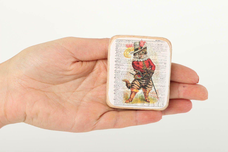 Wood fridge magnet handmade home decor souvenir ideas for decorative use only photo 5