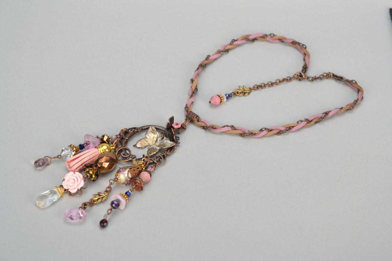 Set of handmade jewelry photo 5