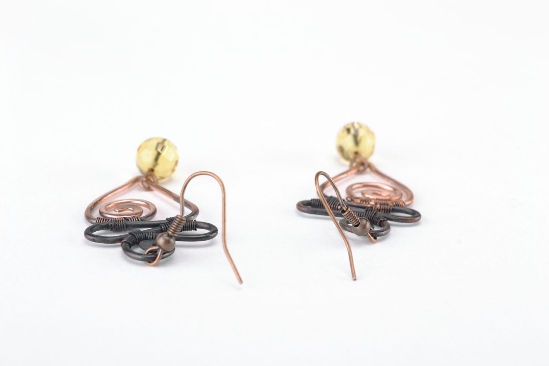 Dangle earrings Pike photo 2