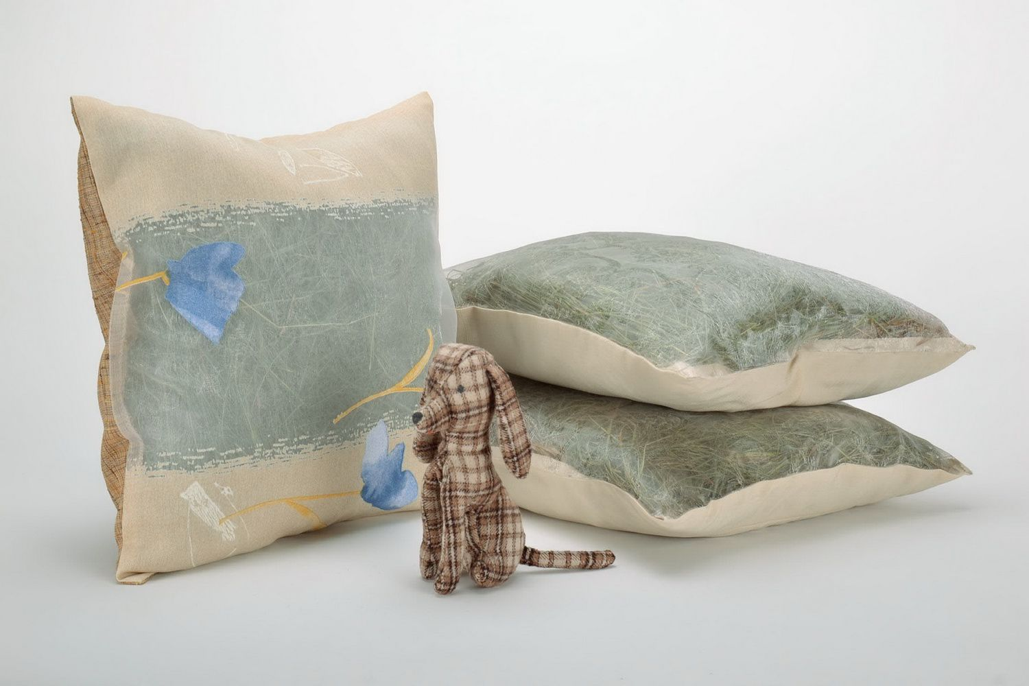 Herb pillow with pillow-case photo 1