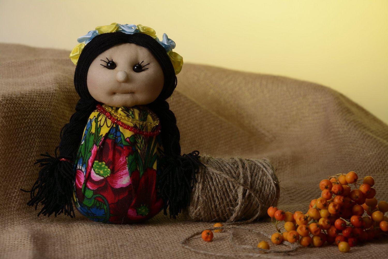 Soft sachet doll Ukrainian girl photo 1