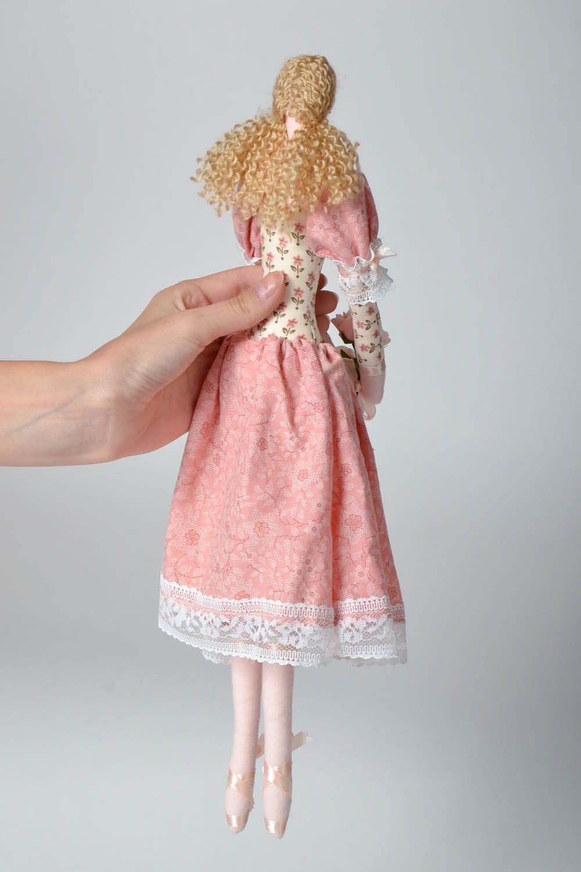 Decorative fabric doll photo 5