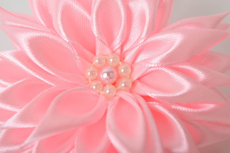 Украшение на голову ручной работы резинка с цветком украшение для волос фото 3