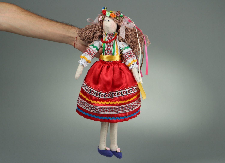 nesting dolls and souvenir dolls Handmade flax doll - MADEheart.com