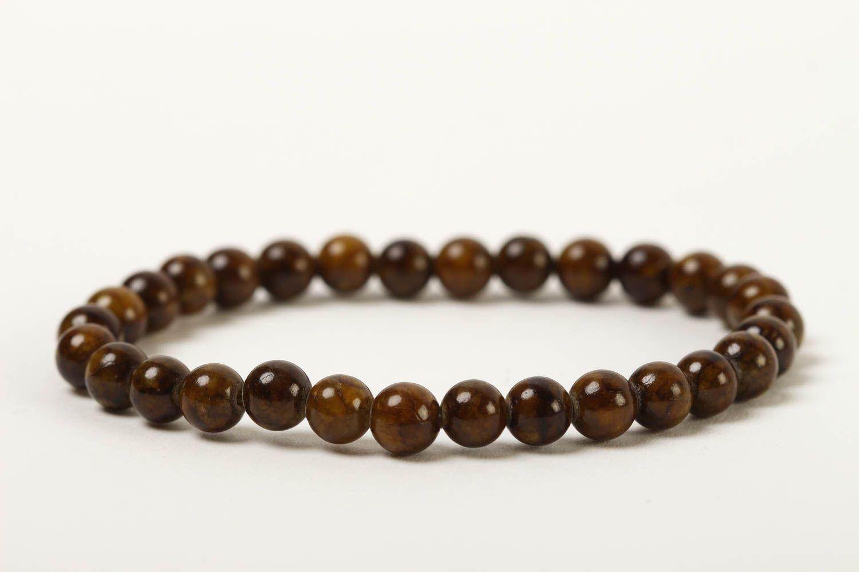 Unusual handmade beaded bracelet gemstone bracelets for women gifts for her photo 4