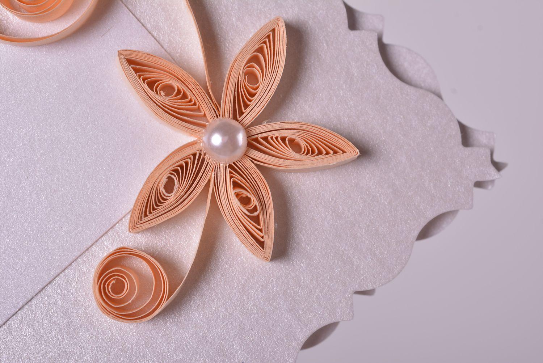 Handmade wedding postcard cute designer invitation collection postcard photo 3