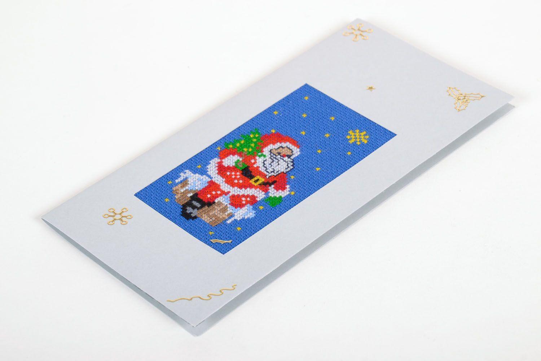 Christmas handmade postcard  photo 2
