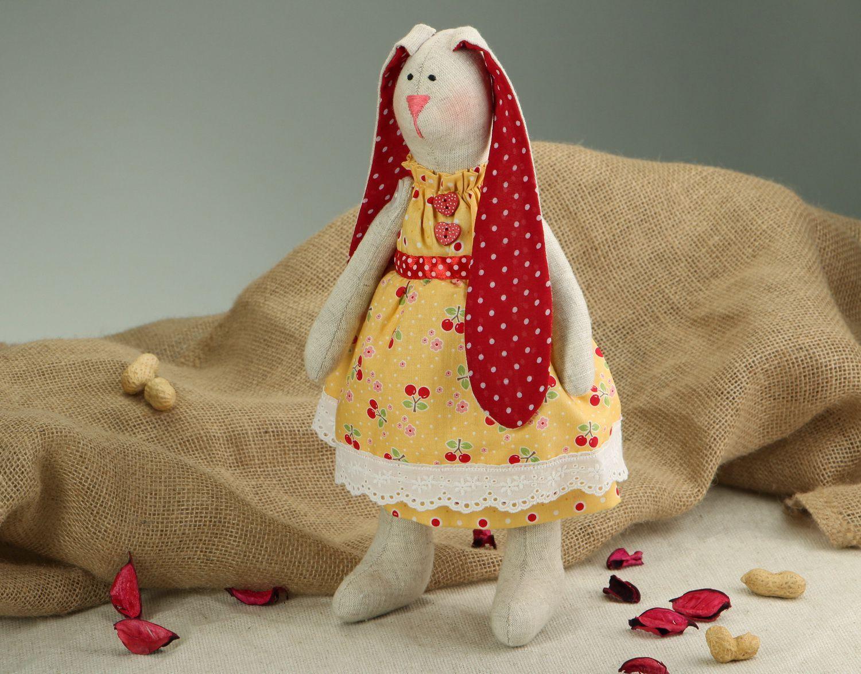 Rabbit doll hand work photo 5