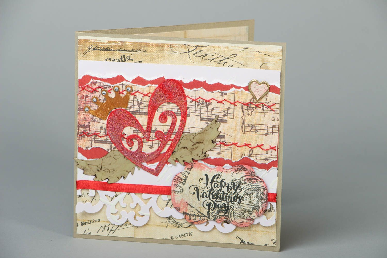 Greeting card St. Valentine's Day photo 1