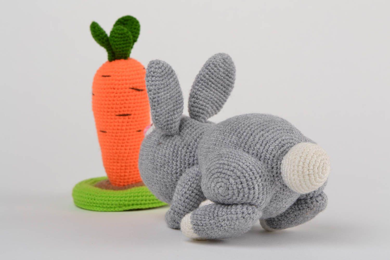 MADEHEART > Мягкие вязаные игрушки ручной работы серый ...