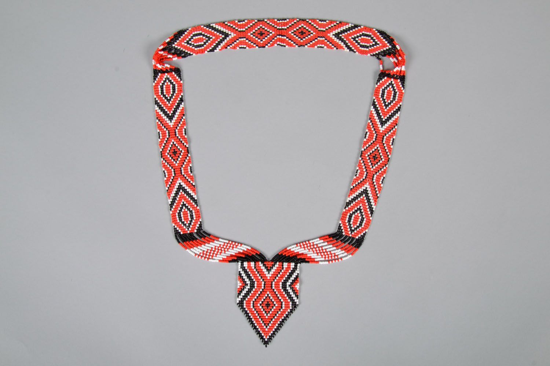 Beaded necklace photo 4