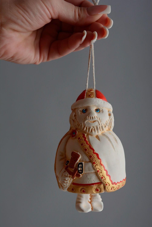 Homemade ceramic bell Warrior photo 5