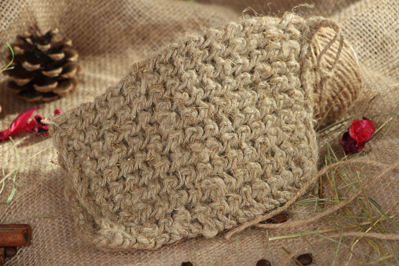 Homemade linen bast whisp photo 5