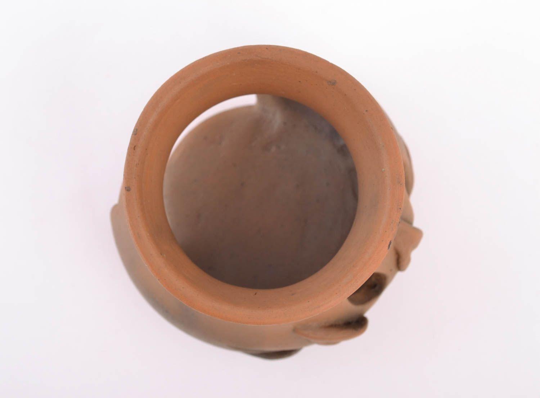 Ceramic aroma lamp made using pottery technique photo 3