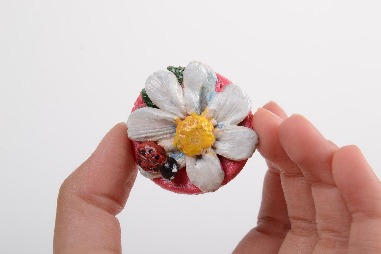 Unusual handmade cramic fridge magnet beautiful clay fridge magnet gift ideas photo 3