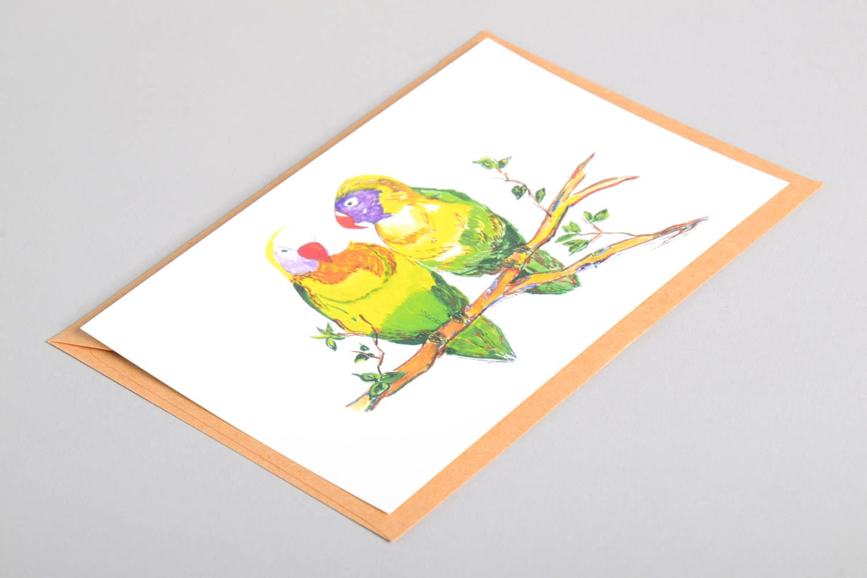 Handmade card unusual greeting card designer card collectible card handmade gift photo 4