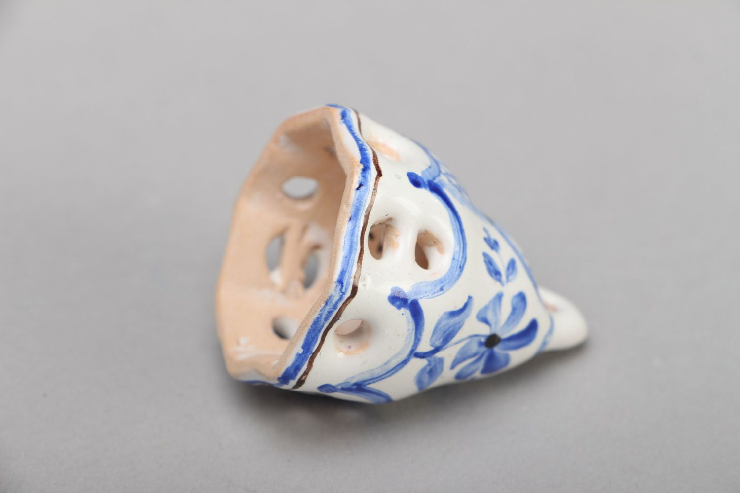 Small enameled bell photo 3