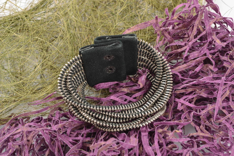 Handmade metal bracelet photo 1