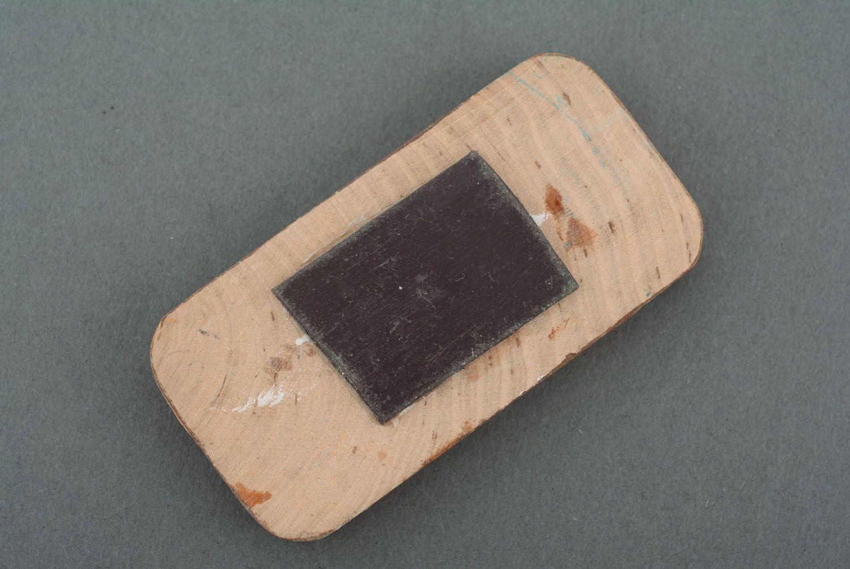 Wooden fridge magnet Birches photo 2