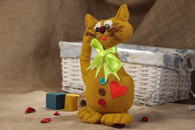 Мягкие игрушки  из мешковины