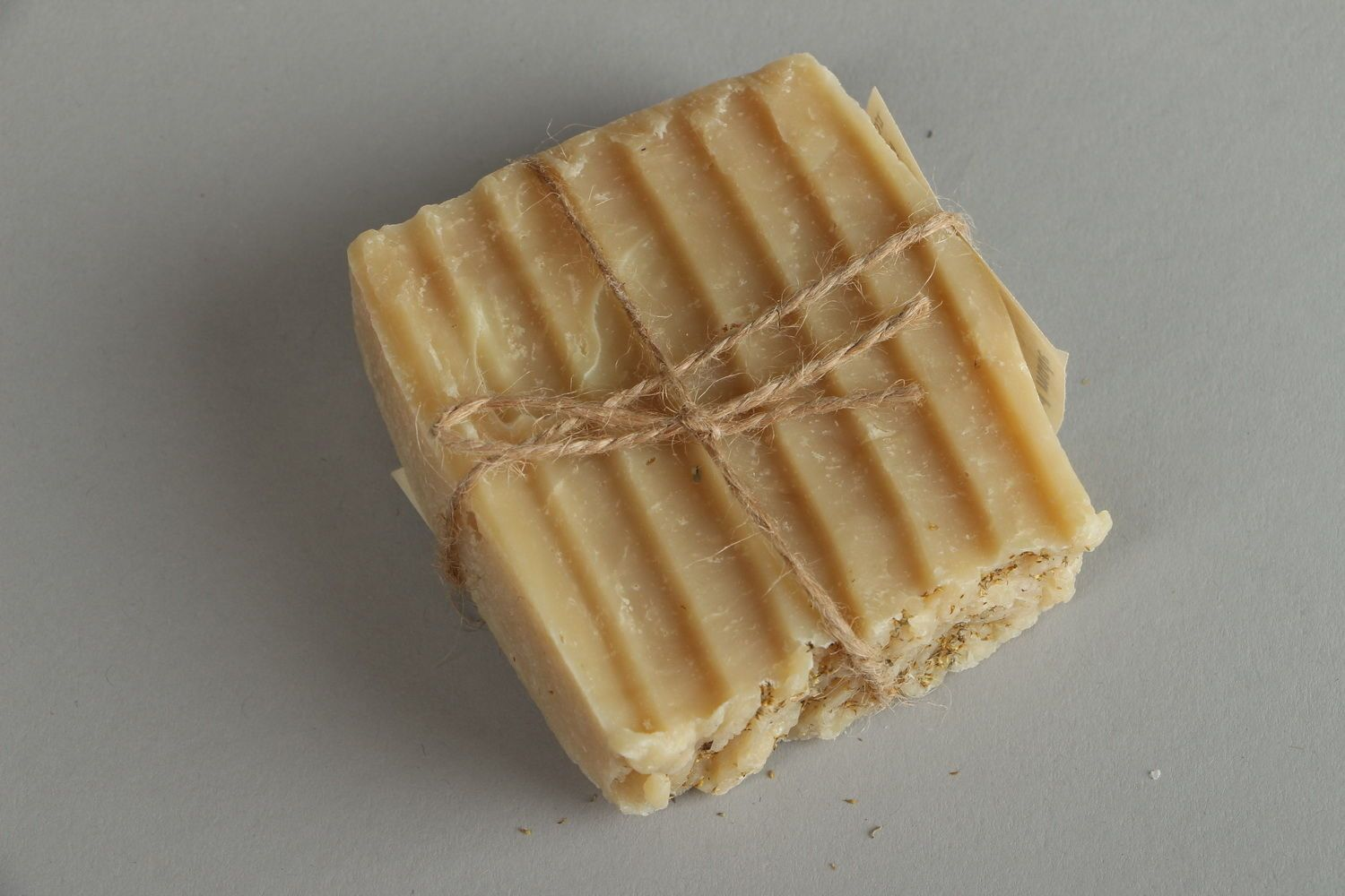 Homemade soap for problem skin Wormwood photo 4