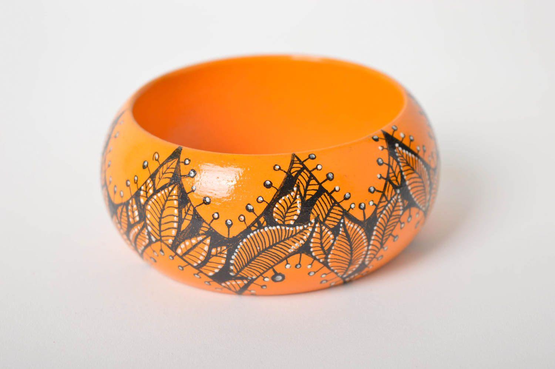 Handmade bright wrist bracelet summer beautiful bracelet elegant accessory photo 1