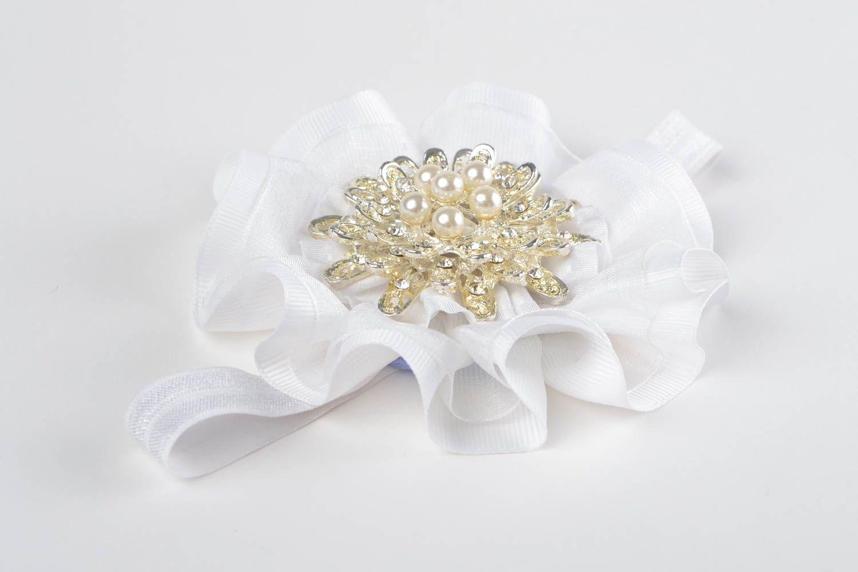 Handmade headband designer headband accessory for hair flower headband photo 1