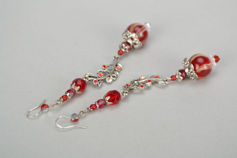 Handmade designer earrings photo 4