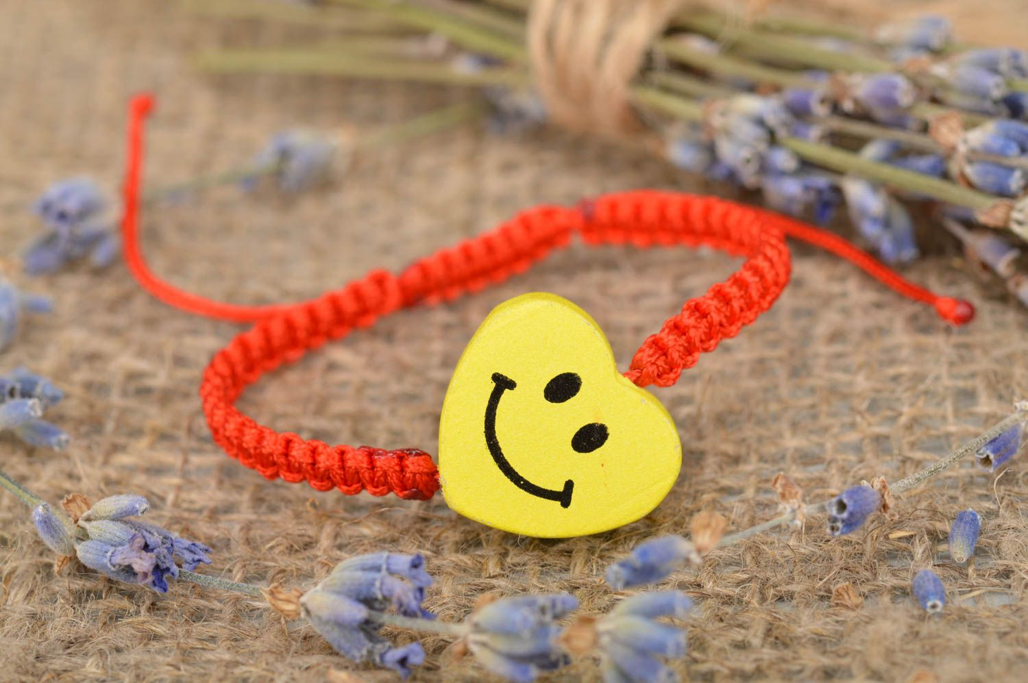 Stylish homemade friendship bracelet woven wax cord bracelet gifts for her photo 1