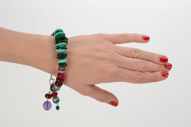 Festive glass bracelet photo 3