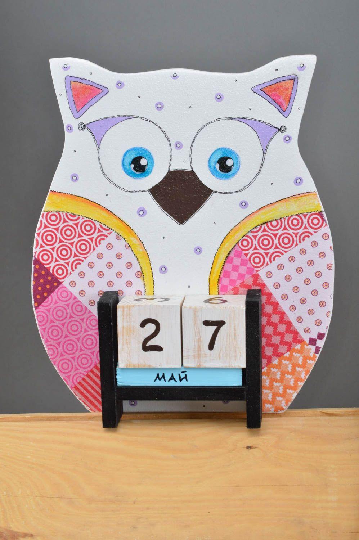 Handmade Calendar Ideas Kids : Madeheart gt beautiful handmade desktop calendar room decor
