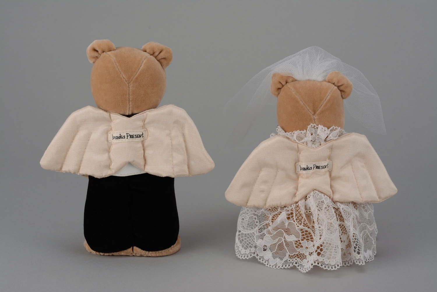Toys For The Honeymoon : Madeheart gt couple of wedding toys quot bears