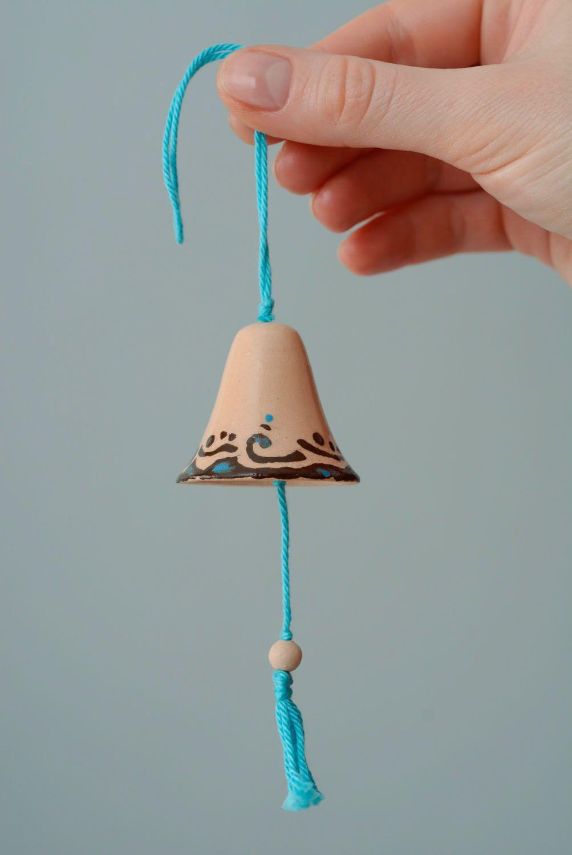 Ceramic glazed bells photo 4
