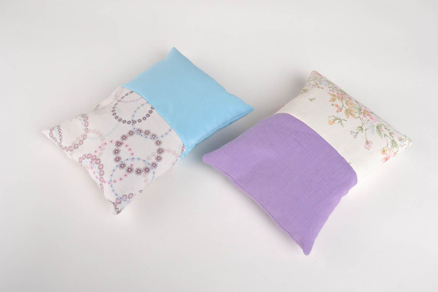 Homemade home decor 2 sachet pillows scented sachets homemade gifts for friends photo 3