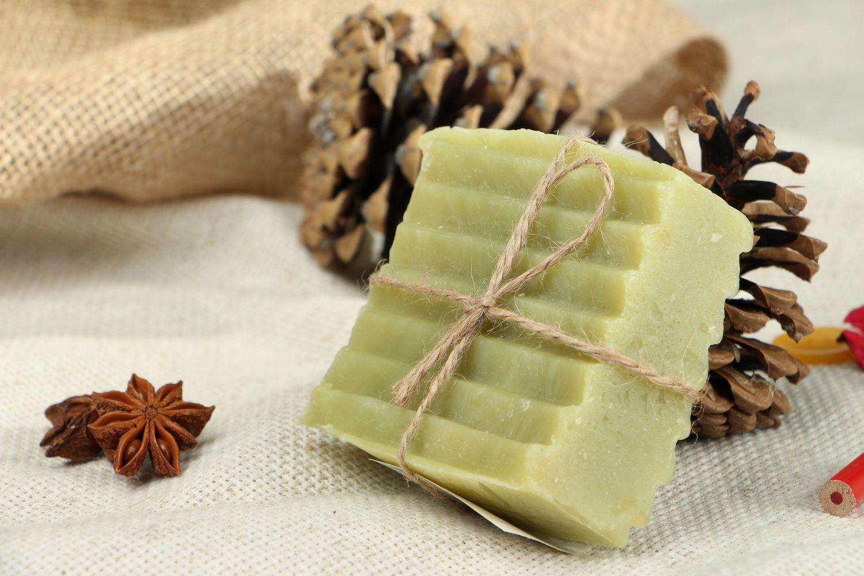 Soap contracting pores Cucumber photo 1