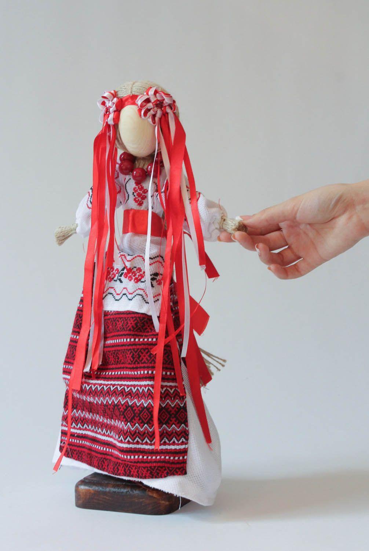 Традиционная тряпичная кукла 40