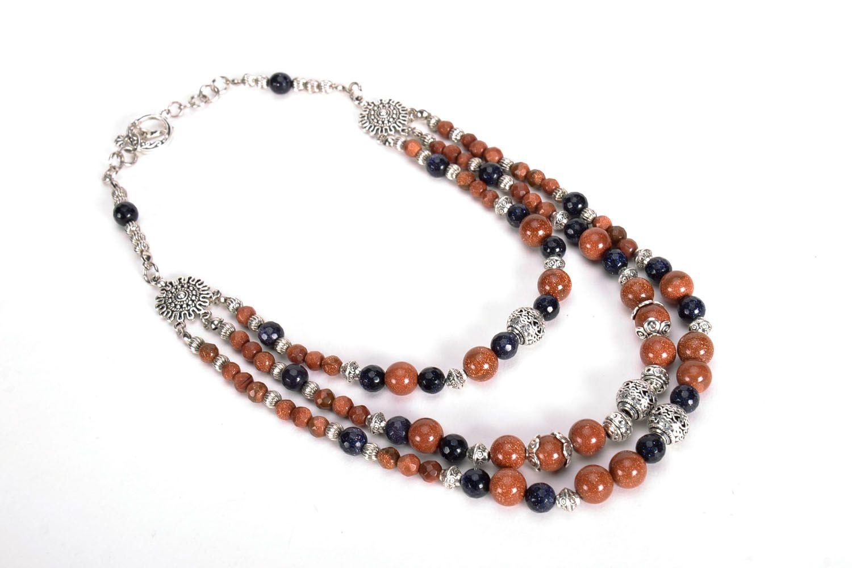 Necklace with aventurine photo 4