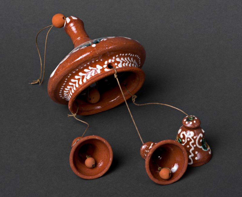 Ceramic pendent bells photo 2
