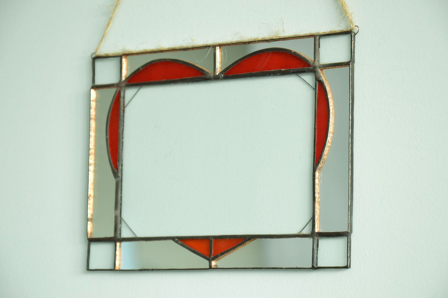 Stained glass photo frame photo 1