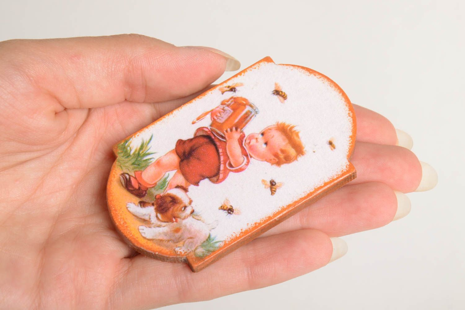 Unusual handmade magnet cool fridge magnets kitchen supplies decorative use only photo 4