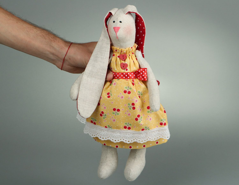 Rabbit doll hand work photo 4