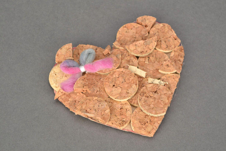 Gift cork magnet photo 1