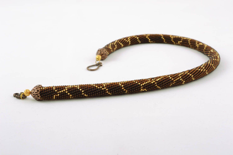 Beaded necklace photo 1
