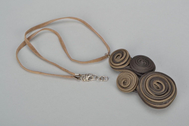 Zipper necklace photo 2