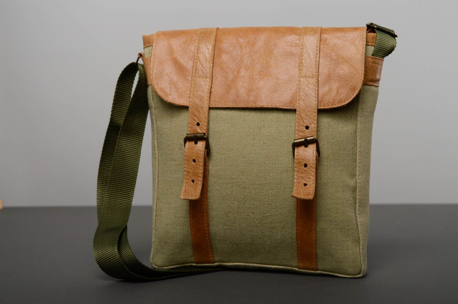 Men's Bags Unusual leather bag Liaison Officer - MADEheart.com