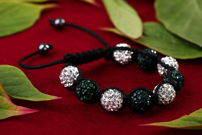 Handmade jewelry designer bracelet beaded bracelet fashion accessories gift idea photo 2