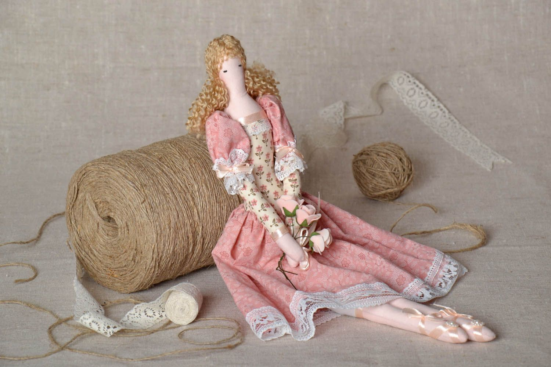 Decorative fabric doll photo 1