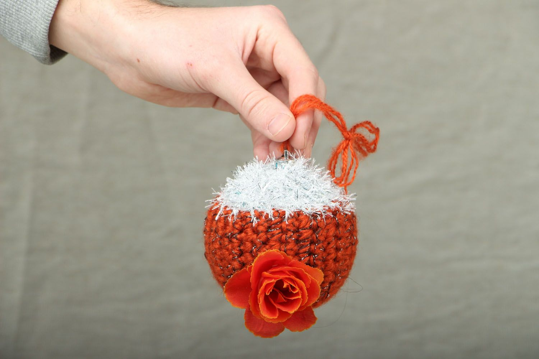boules de Noël Boule de Noël originale faite main Rose - MADEheart.com