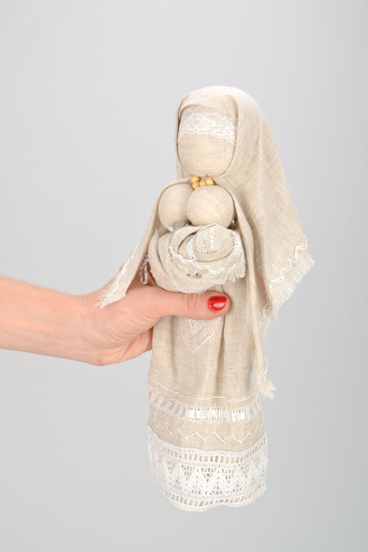 Homemade ethnic motanka doll Stolbushka photo 2